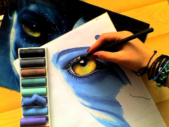 Zoe Saldana by J.K